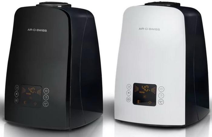 Ультразвуковой увлажнитель Air-O-Swiss Boneco U650 черный и белый