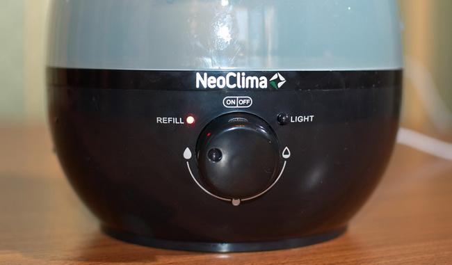 Ультразвуковой увлажнитель воздуха NeoClima NHL-220L
