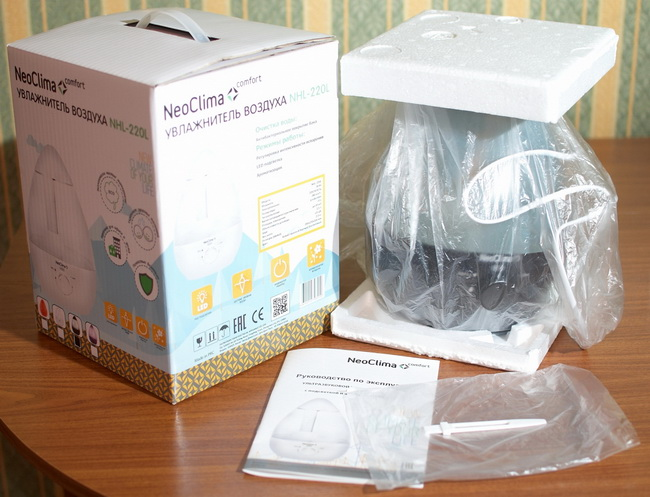 Воздухоувлажнитель NeoClima NHL-220L