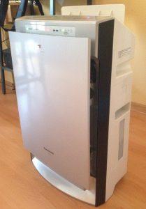 Белый увлажнитель Panasonic F-VXH50