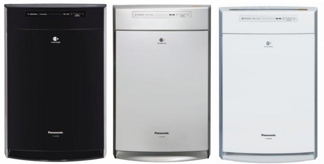 Увлажнитель и очиститель воздуха Panasonic F-VXH50 в трех цветах, черный, белый, серебристый