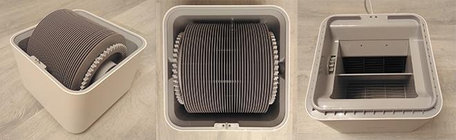 Внутренности увлажнителя воздуха xiaomi smartmi air humidifier 2