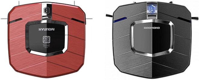 роботы пылесосы Redmond rv-r250 vs Hyundai H-VCRX50