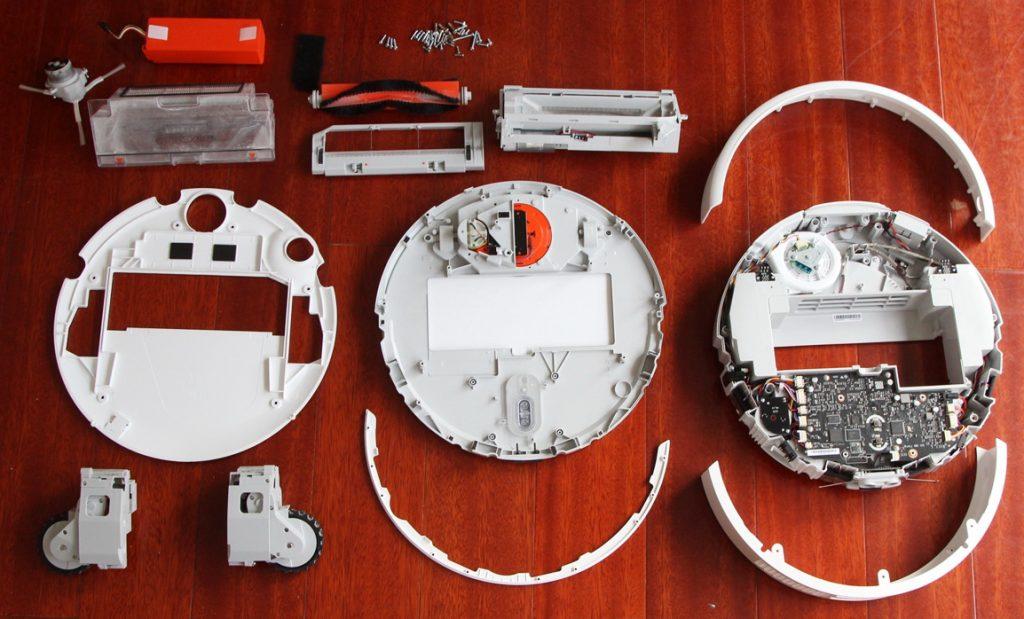 Робот-пылесос Xiaomi Mi Robot Vacuum Cleaner inside