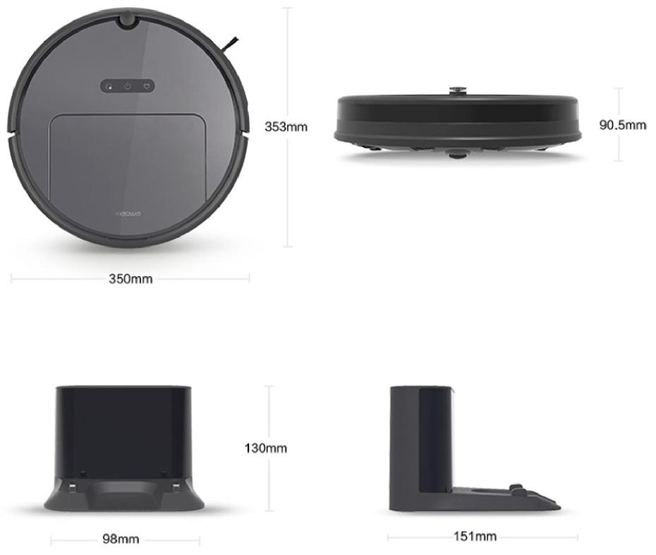 Xiaomi-Xiaowa-Robot-Vacuum-Cleaner-dimensions