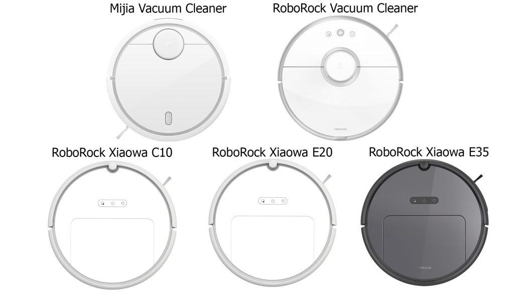 сравнение роботы-пылесосы Xiaomi