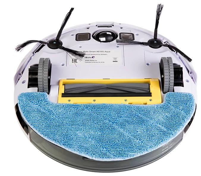 Влажная уборка у iBoto X610G Smart Aqua и Gutrend Smart 300
