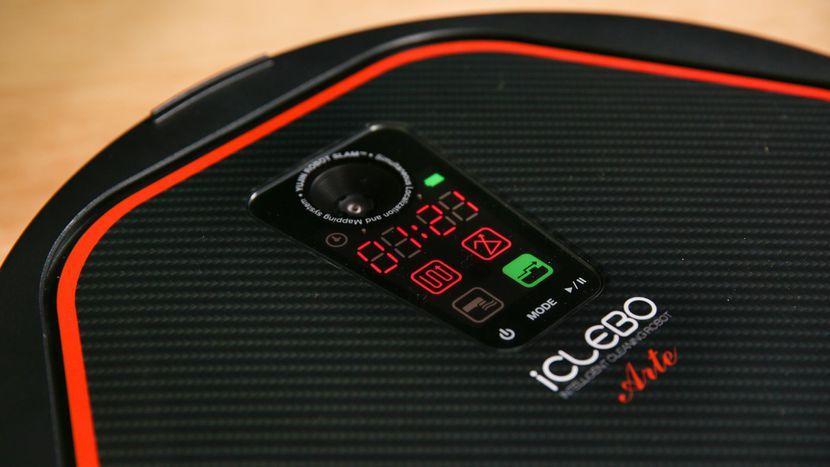 iClebo Arte control panel