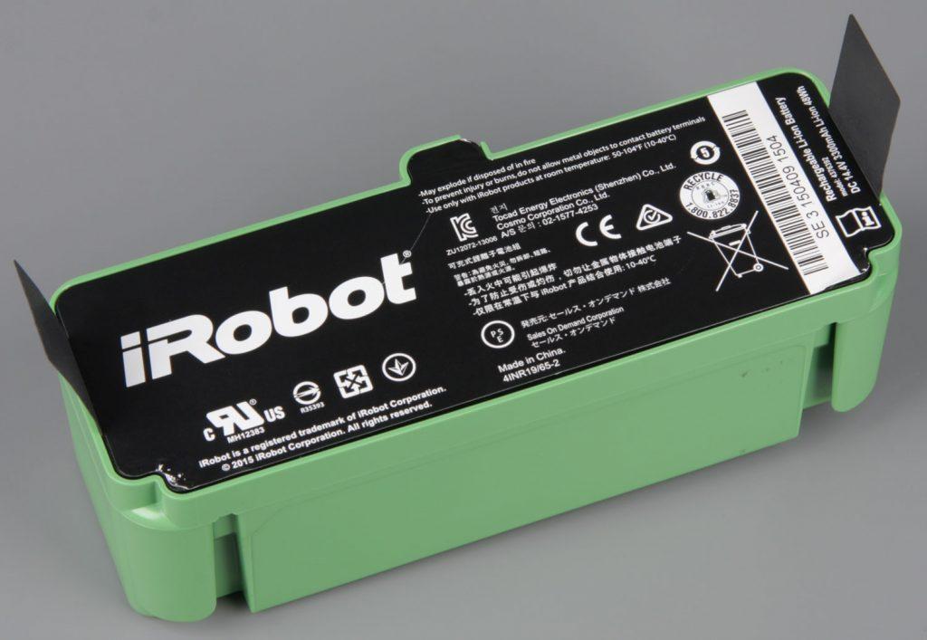 аккумулятор для робот-пылесос irobot roomba 980