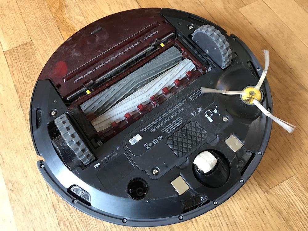 робот-пылесос айробот румба 980