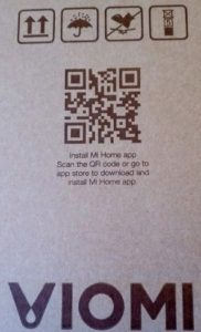 Версия робота пылесоса Xiaomi Viomi с поддержкой Mi Home
