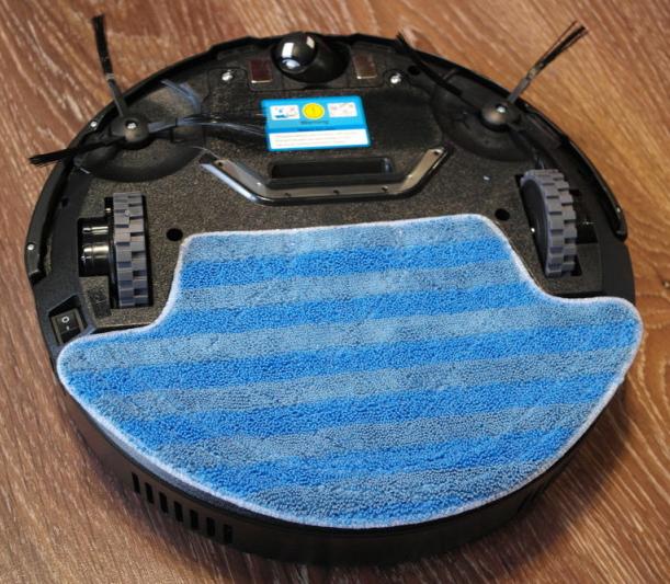 Робот-пылесос iLife v55 pro для влажной уборки