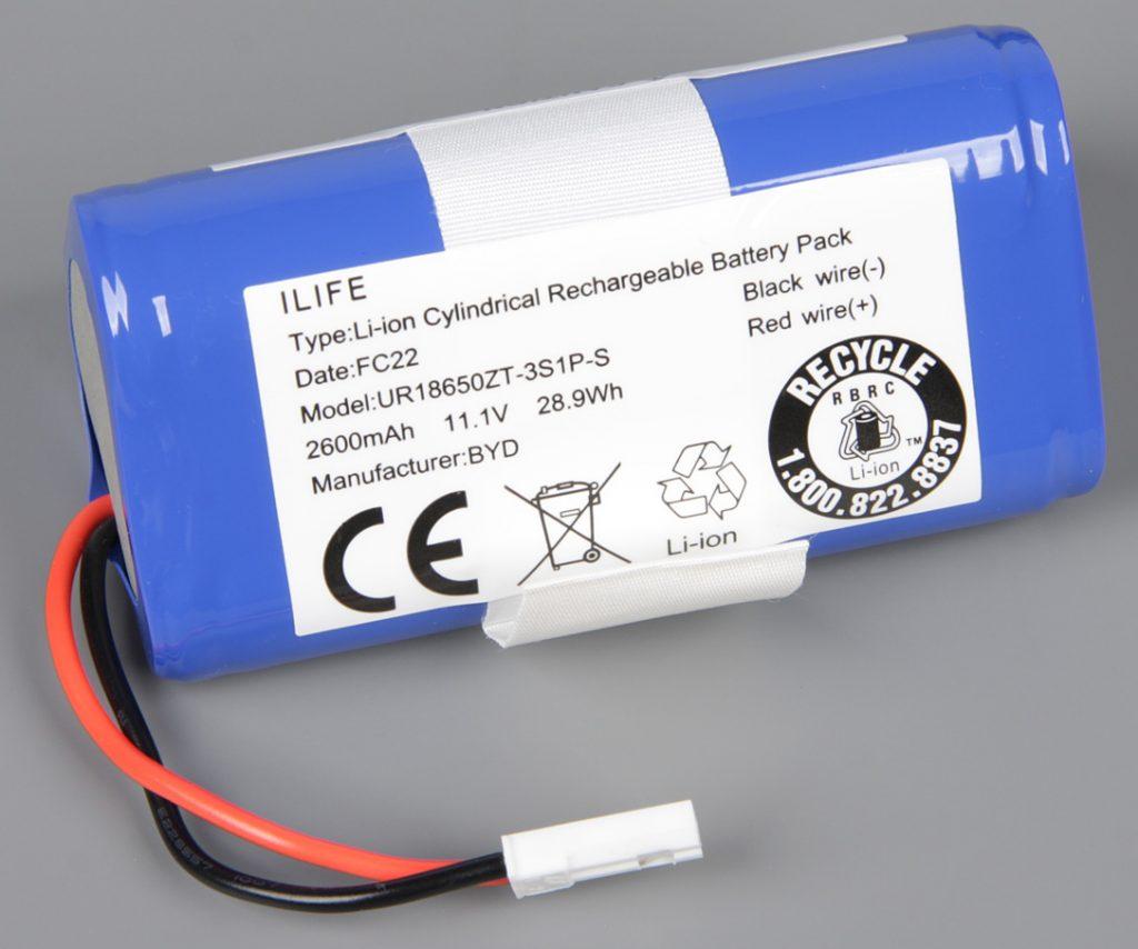 аккумулятор робот пылесос ilife v50 pro