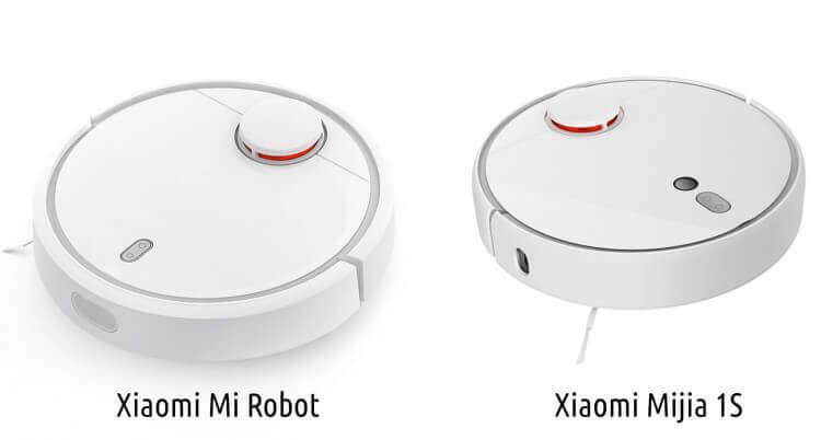 сравнение робот пылесос xiaomi mi robot 1s и сяоми mi robot vacuum cleaner