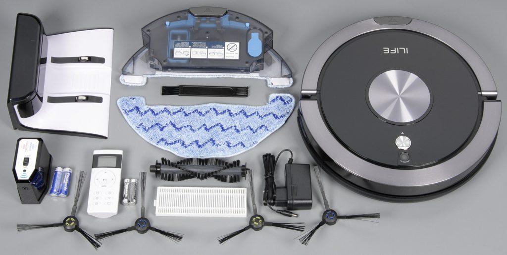 Комплект поставки робота-пылесоса iLife A9s
