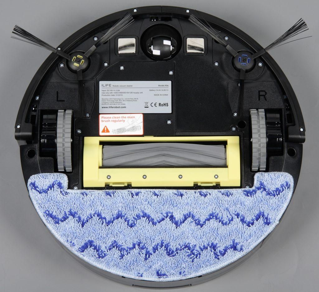 робот пылесос iLife A9s для влажной уборки