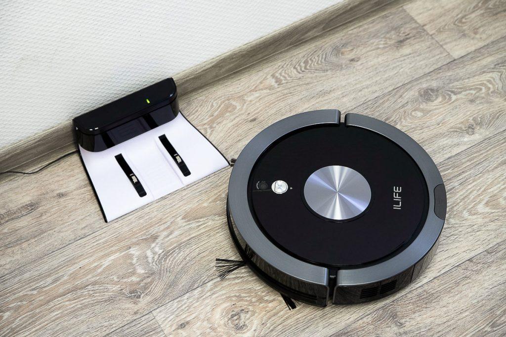 робот пылесос iLife A9s