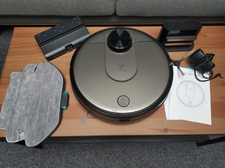 Комплект поставки робота Xiaomi Viomi Vacuum Robot V2