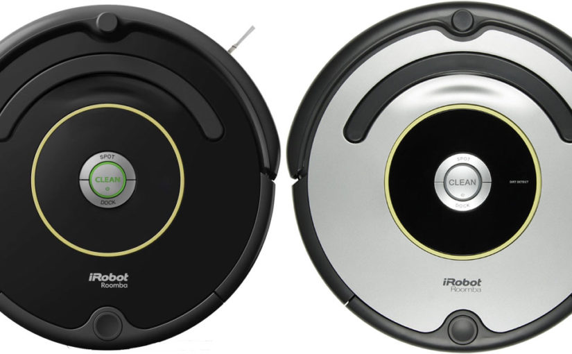 Обзор и отзыв на iRobot Roomba 612 и 615: найди два отличия от 606