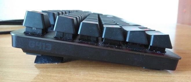 Logitech G413 Carbon Black USB на ножках