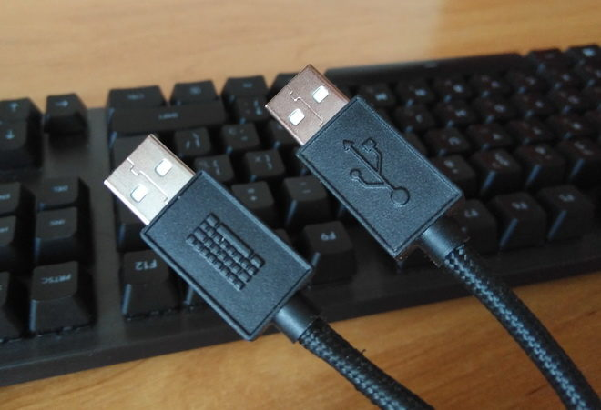 разъемы usb Logitech G413 Carbon Black