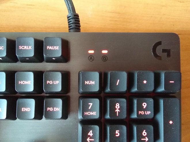 индикаторы Logitech G413 Carbon Black USB