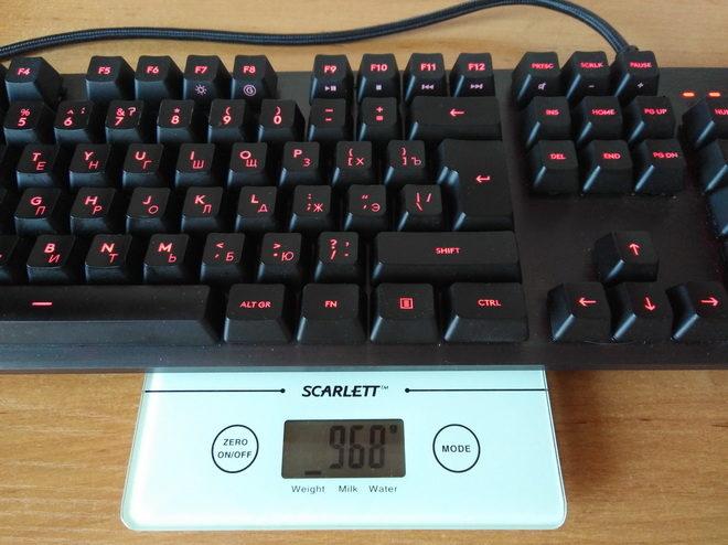 вес Logitech G413 Carbon Black USB