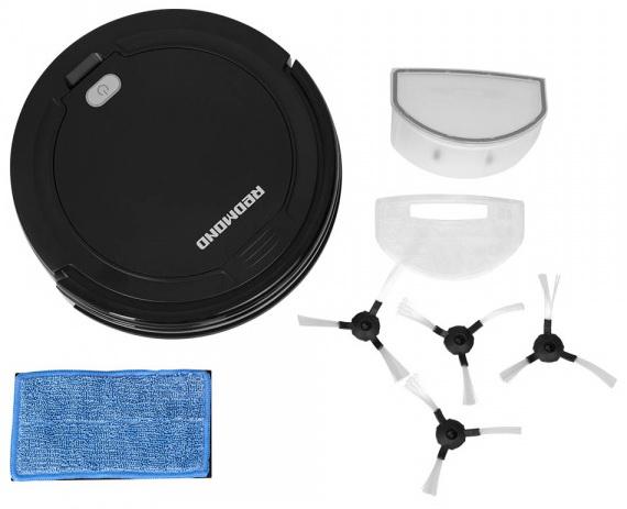 робот пылесос redmond rv-r165 комплект поставки