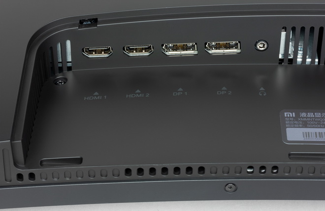 монитор xiaomi-mi-surface-display-34 разъемы