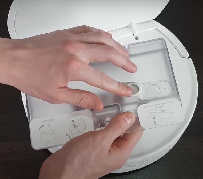 пылесборник робот пылесос Xiaomi Mijia G1 Sweeping Vacuum Cleaner