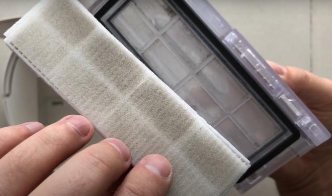фильтр робот пылесос Xiaomi Mijia G1 Sweeping Vacuum Cleaner
