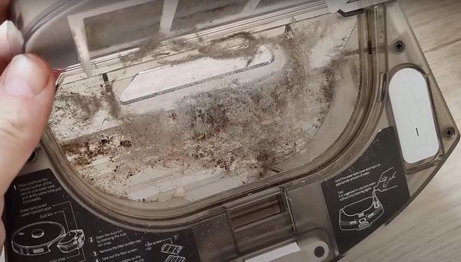мусоросборник робот пылесос xiaomi-lydsto-r1